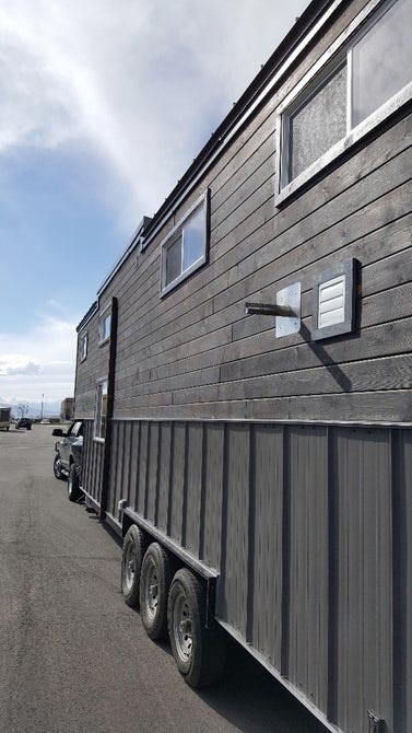 Yakisugi Siding - Tiny Giant by Alpine Tiny Homes