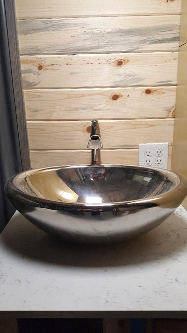 Vessel Sink - Tiny Giant by Alpine Tiny Homes