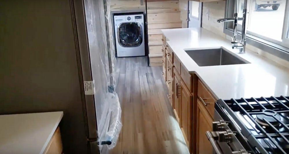 Cali Bamboo Flooring - Tiny Giant by Alpine Tiny Homes