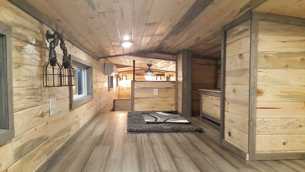 Bedroom Closet Space - Tiny Giant by Alpine Tiny Homes