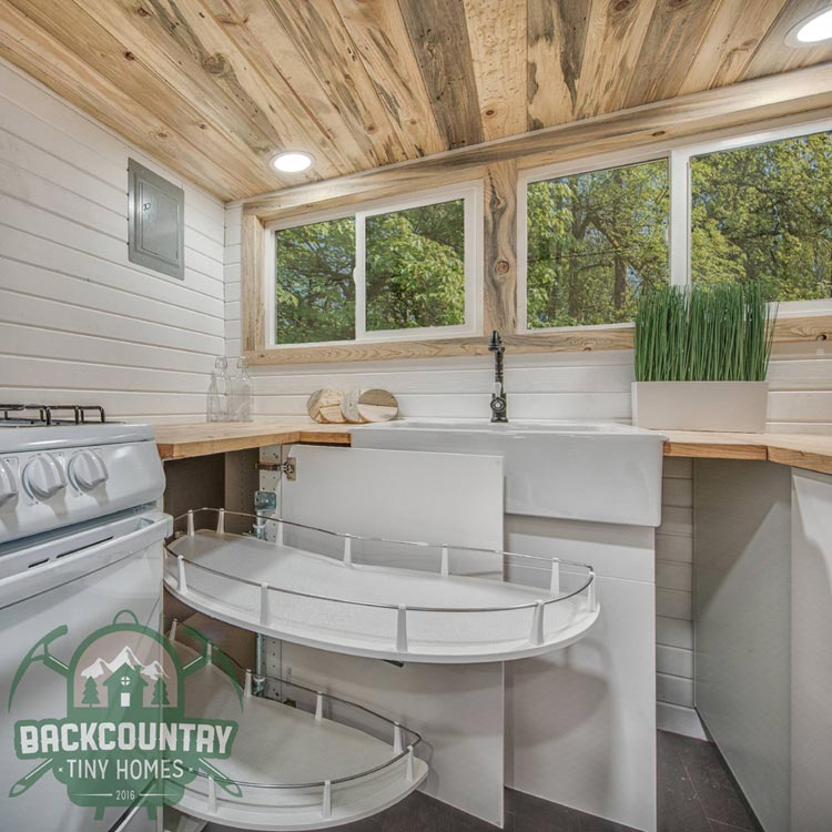 IKEA Kitchen Cabinets - Juniper by Backcountry Tiny Homes