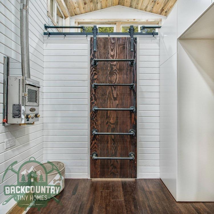 Barn Door Ladder - Juniper by Backcountry Tiny Homes