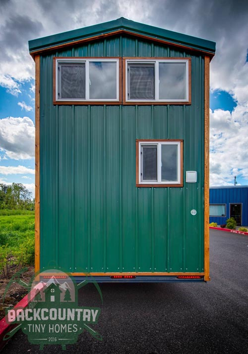 Metal Siding - Juniper by Backcountry Tiny Homes