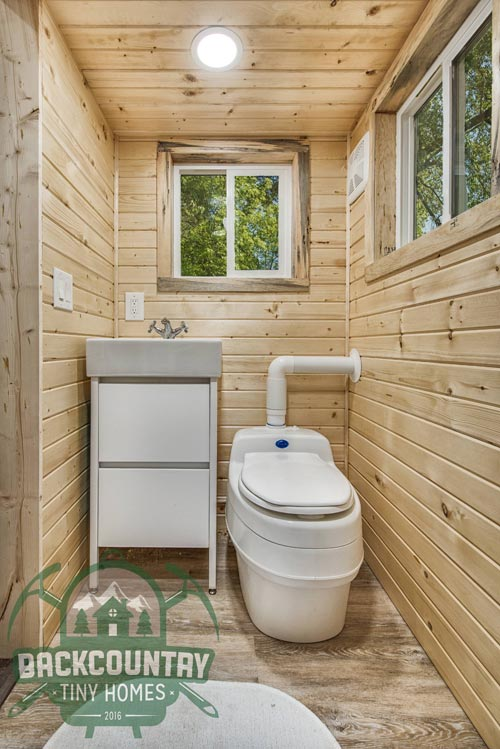 Bathroom - Juniper by Backcountry Tiny Homes