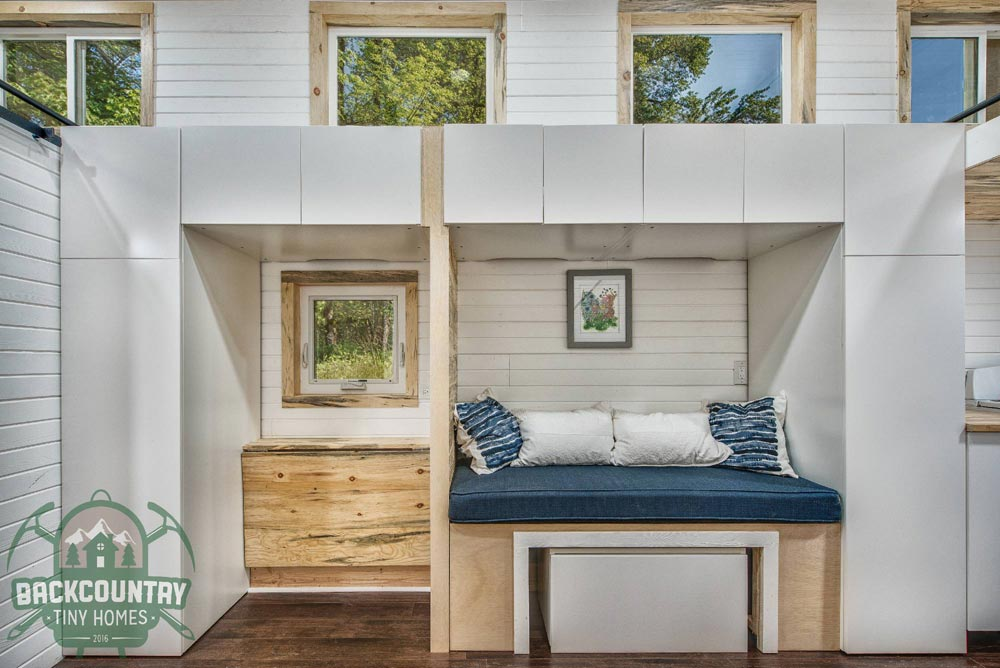 Overhead Storage - Juniper by Backcountry Tiny Homes