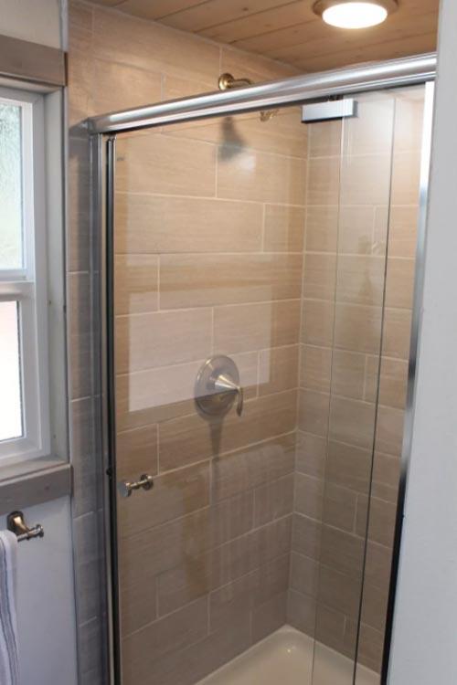 Shower - King's Loft by Tiny Houses of Washington