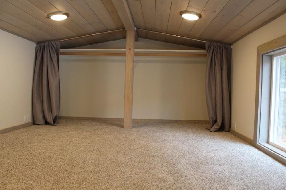 Bedroom Loft - King's Loft by Tiny Houses of Washington