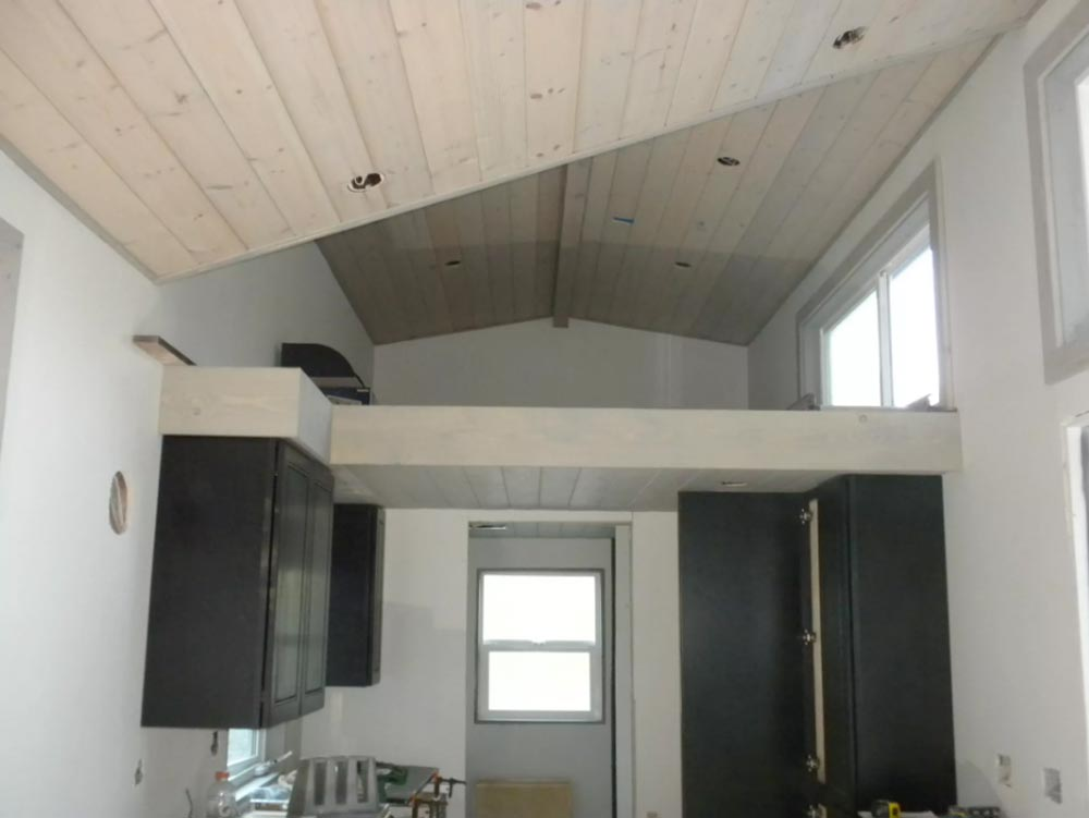 Ceiling Detail - King's Loft by Tiny Houses of Washington