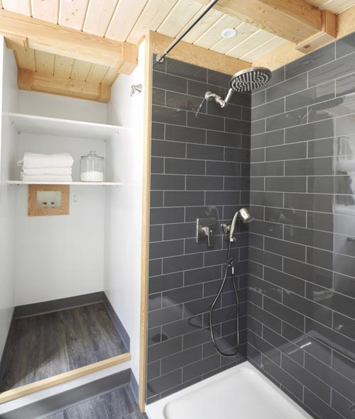 Full Size Shower - Lillooet by Westcoast Outbuildings