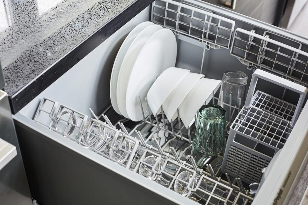 Hidden Dishwasher - Lillooet by Westcoast Outbuildings