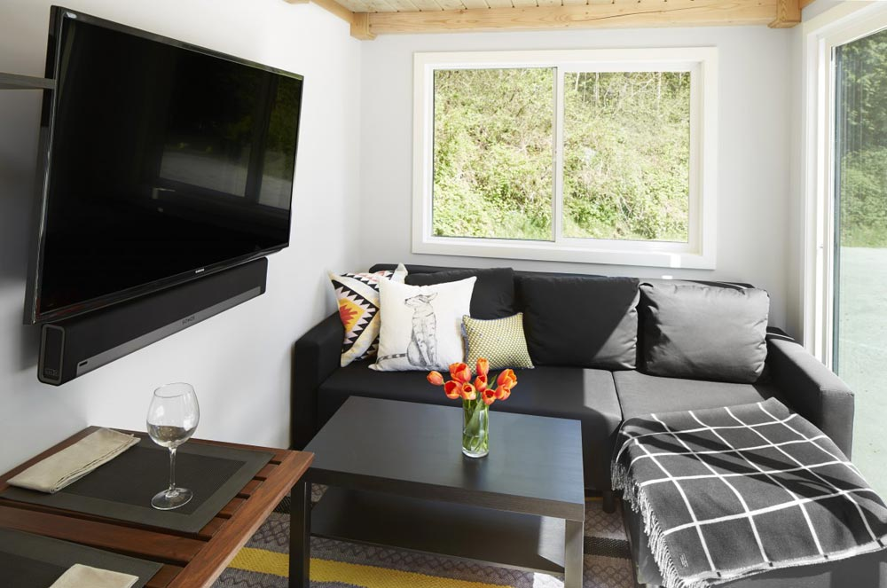 Living Room - Lillooet by Westcoast Outbuildings