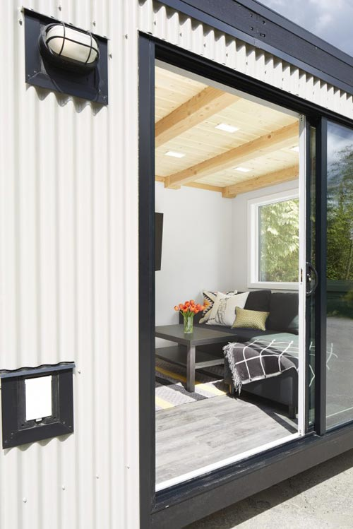 Sliding Glass Door Entry - Lillooet by Westcoast Outbuildings