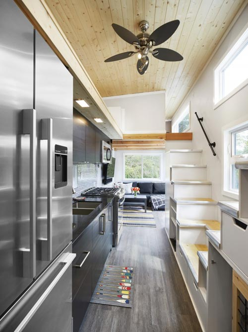 Tiny House Interior - Lillooet by Westcoast Outbuildings