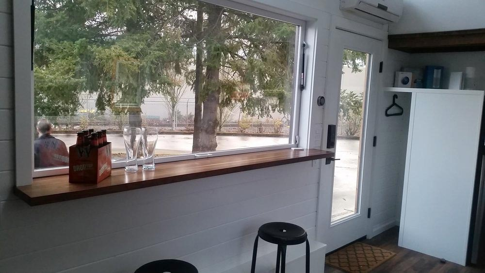 7' Bar Top w/ Picture Window - Mio by Covo Tiny House Co