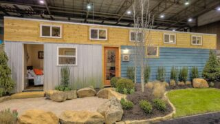 Modern Empty Nester by Custom Container Living