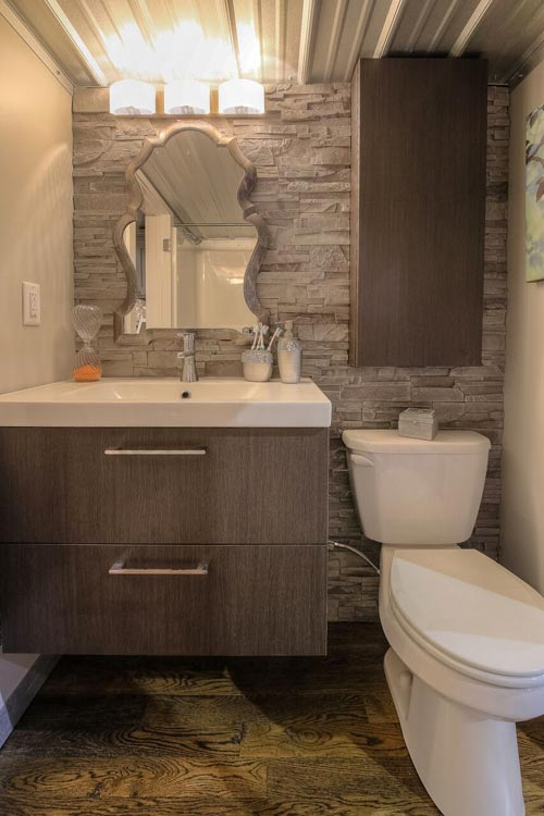 Bathroom Vanity - Modern Empty Nester by Custom Container Living
