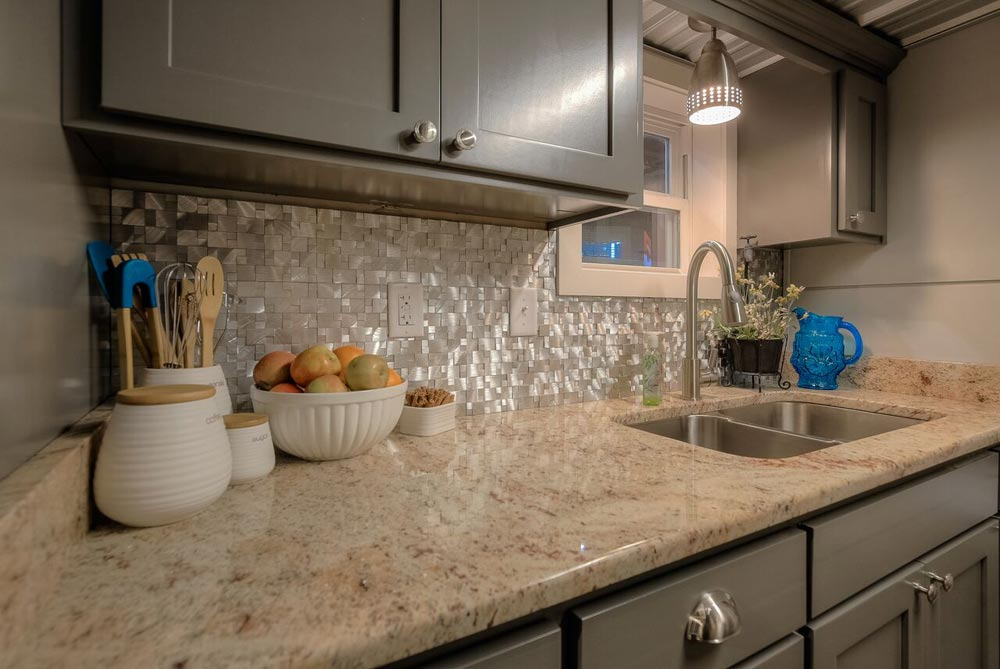 Granite Counters - Modern Empty Nester by Custom Container Living
