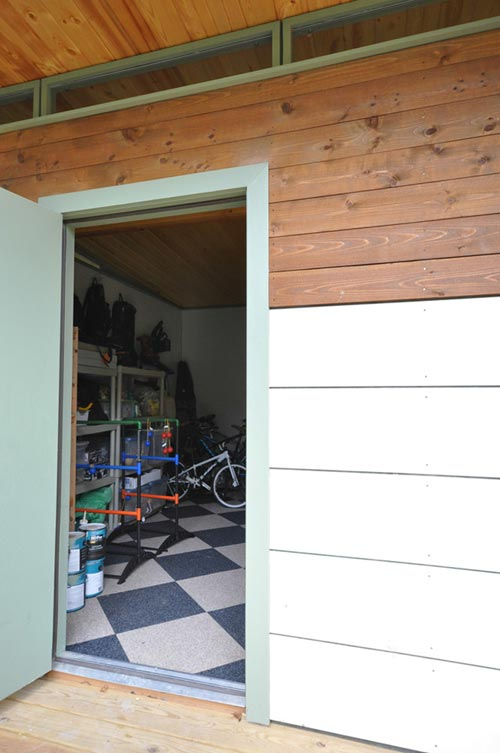 Shed Door - Modern Studio + Shed by Kanga Room Systems