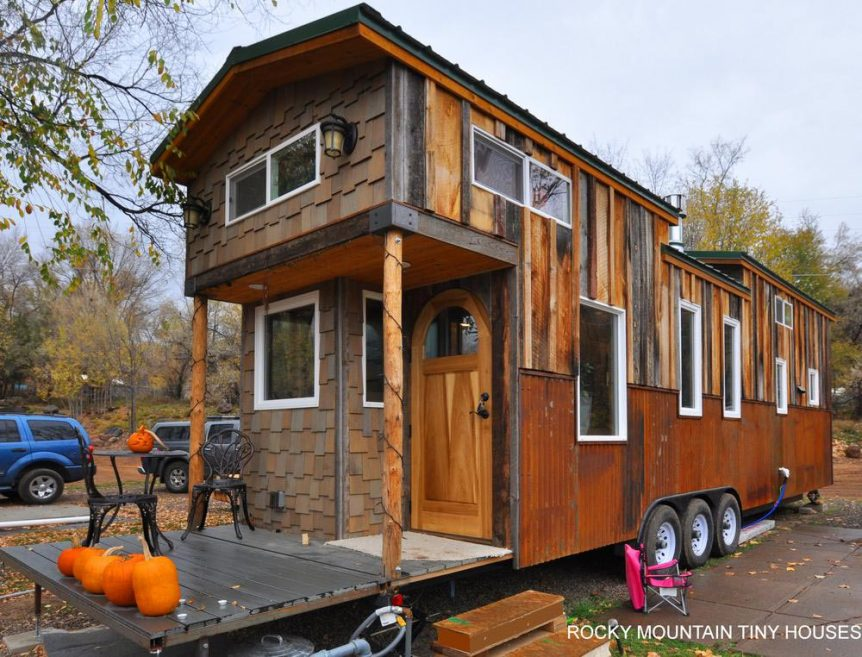 Red Mountain by Rocky Mountain Tiny Houses