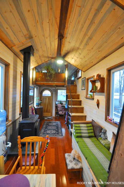 Living Area - Red Mountain by Rocky Mountain Tiny Houses