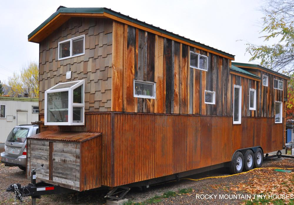 Rustic Tiny House - Red Mountain by Rocky Mountain Tiny Houses