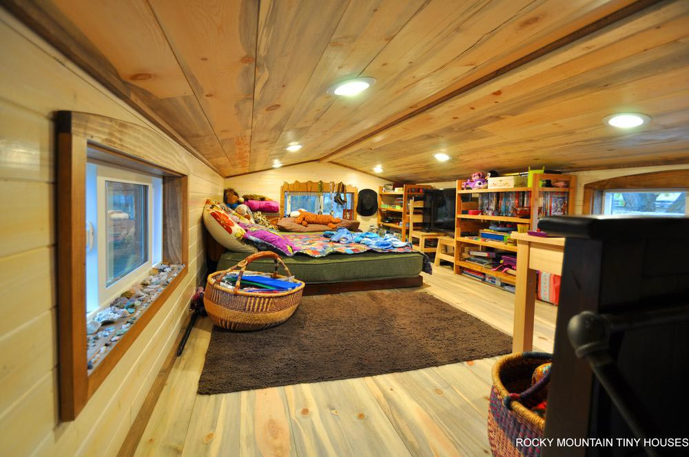 Kids' Bedroom Loft - Red Mountain by Rocky Mountain Tiny Houses