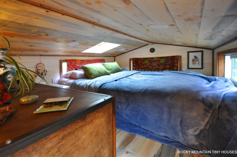 Master Bedroom Loft - Red Mountain by Rocky Mountain Tiny Houses