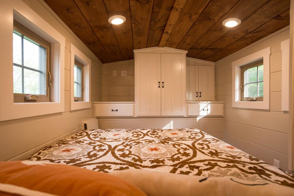 Bedroom Cabinets - Retreat by Timbercraft Tiny Homes
