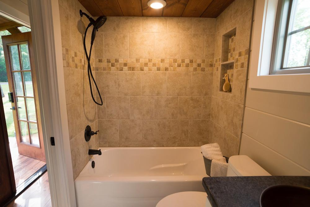 Full Bathtub - Retreat by Timbercraft Tiny Homes