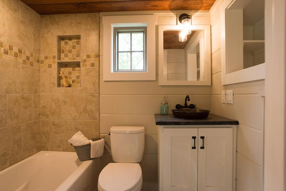 Bathroom - Retreat by Timbercraft Tiny Homes