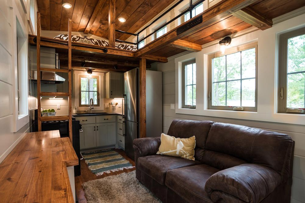 Living Room - Retreat by Timbercraft Tiny Homes