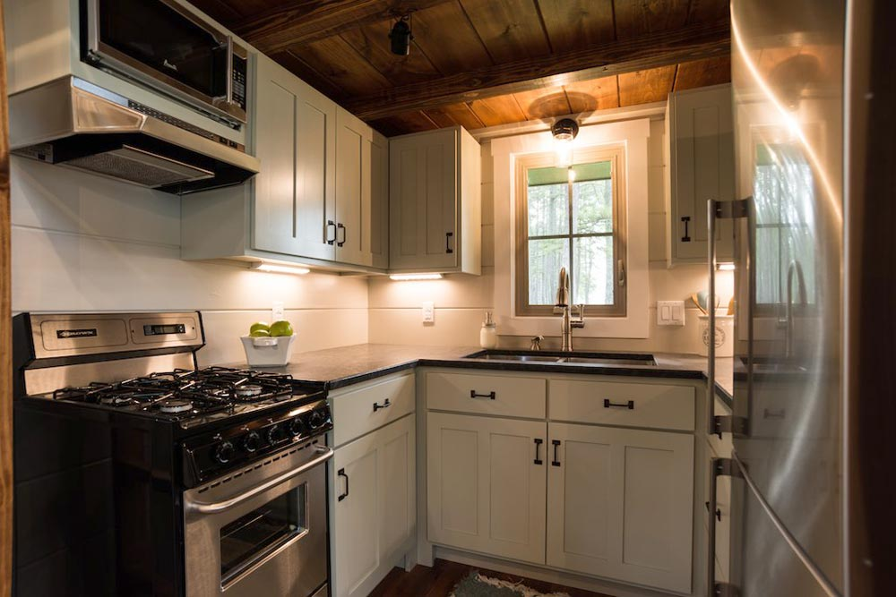 Kitchen - Retreat by Timbercraft Tiny Homes