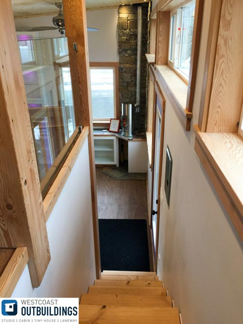 Storage Stairs - Skookum by Westcoast Outbuildings
