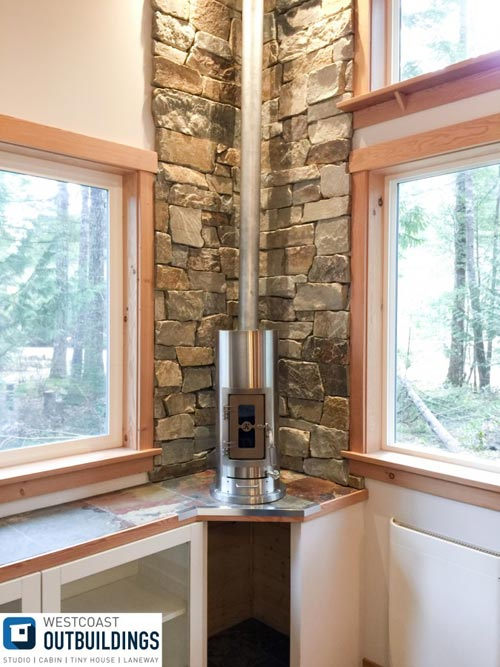 Kimberly Wood Stove - Skookum by Westcoast Outbuildings