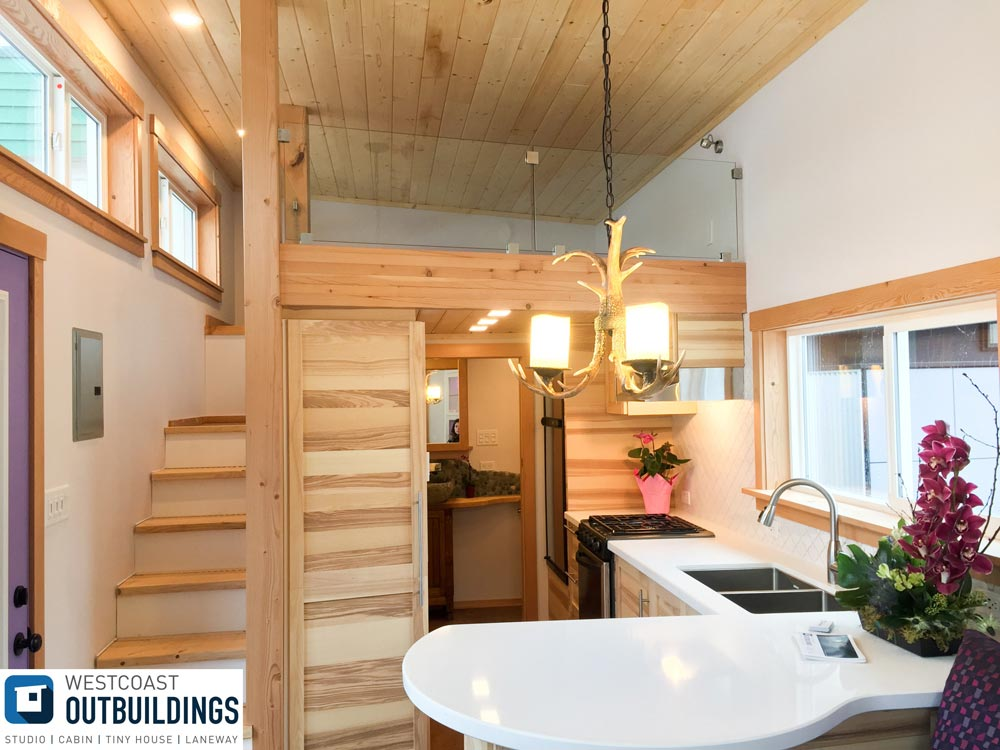 Tiny House Interior - Skookum by Westcoast Outbuildings