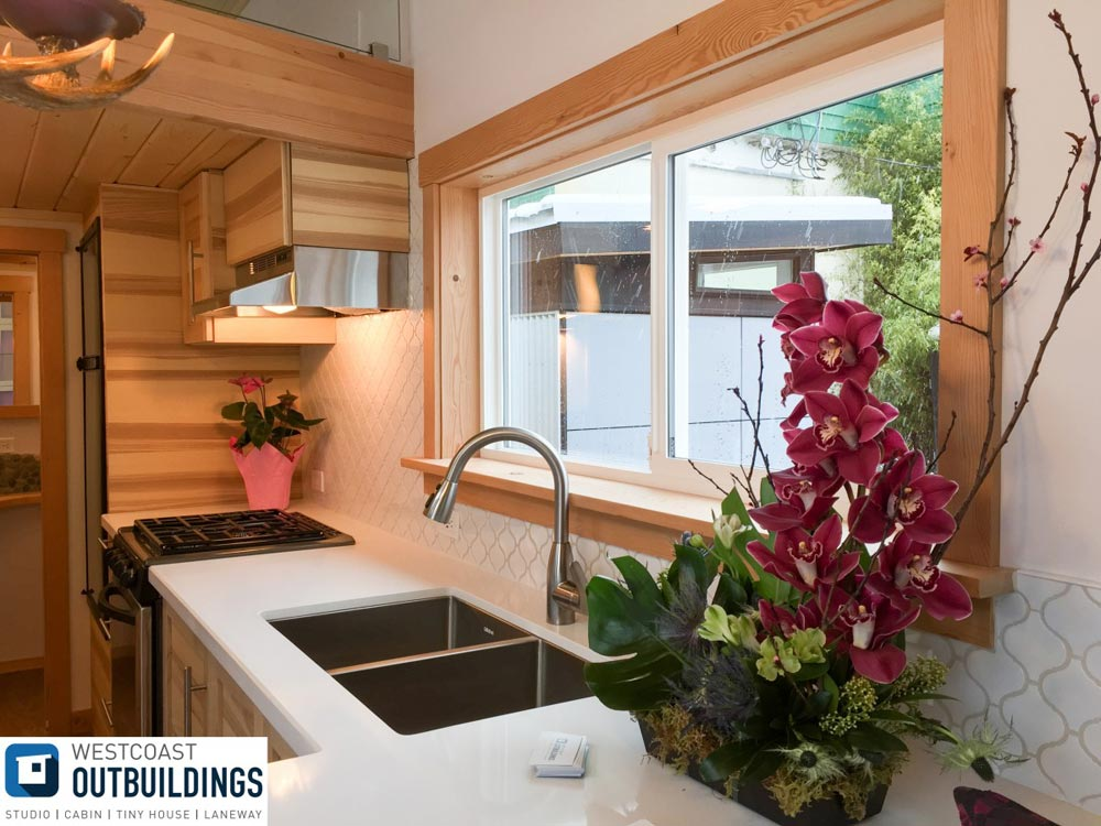 Kitchen Sink & Window - Skookum by Westcoast Outbuildings