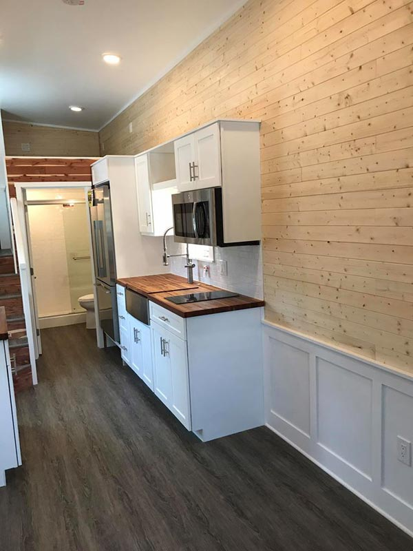 Wainscoting - Sportsman by A New Beginning Tiny Homes