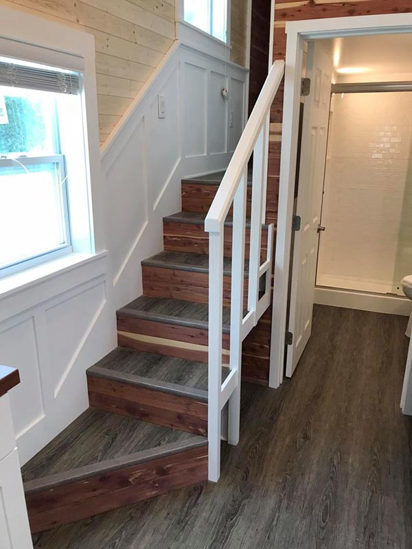 Staircase - Sportsman by A New Beginning Tiny Homes