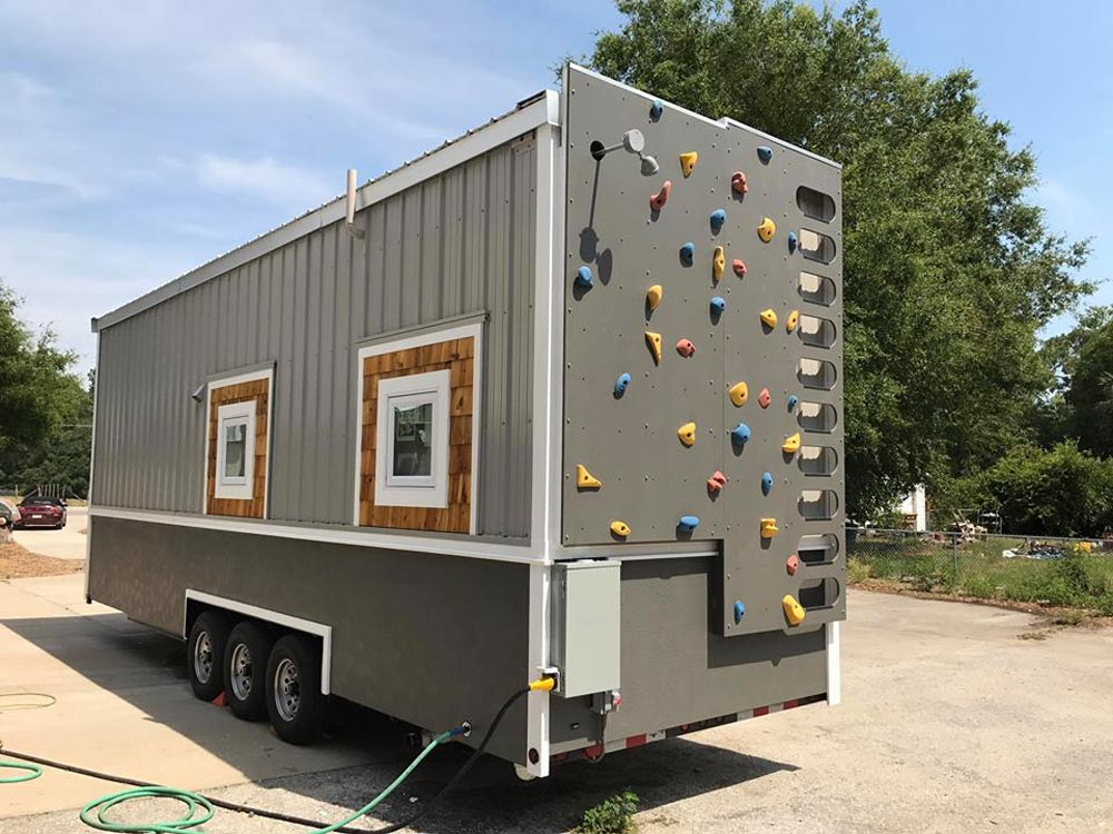 Climbing Wall - Sportsman by A New Beginning Tiny Homes