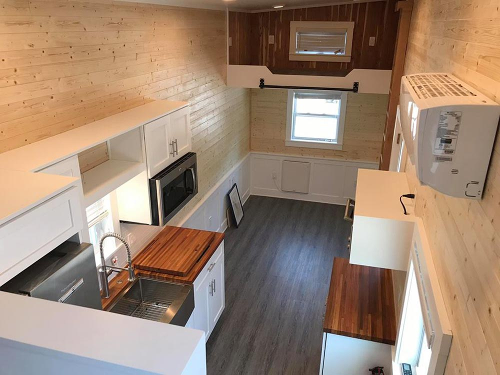 View From Loft - Sportsman by A New Beginning Tiny Homes