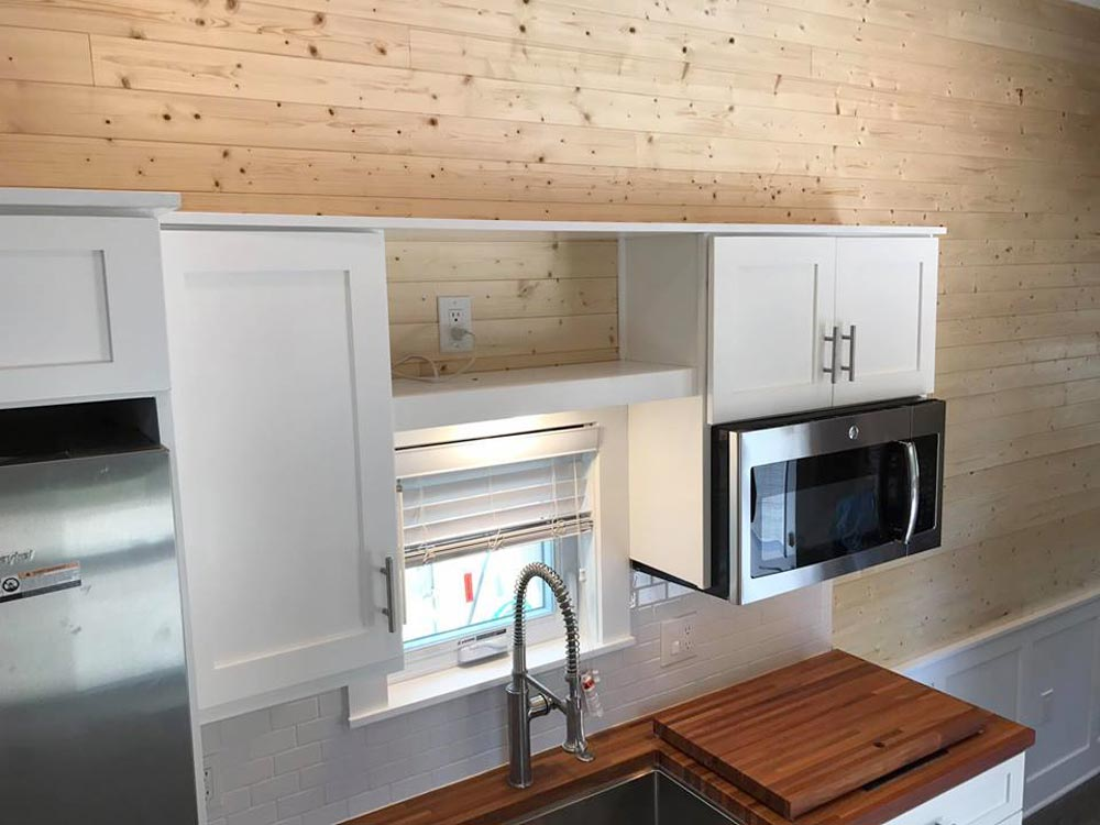 Upper Cabinets - Sportsman by A New Beginning Tiny Homes