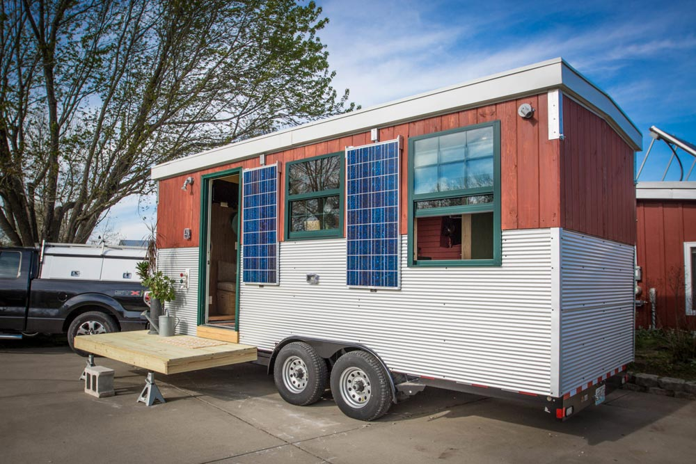 Solar Powered Tiny House - Starlighter by Show-Me Tiny Homes