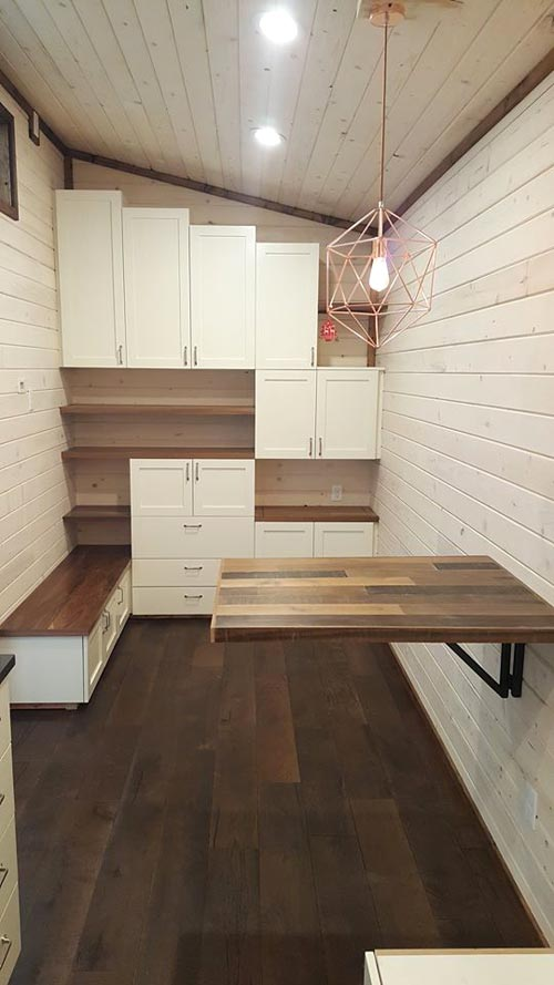 Fold Down Table - Warehouse by Alpine Tiny Homes