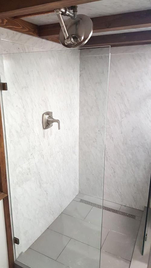 Shower Stall - Warehouse by Alpine Tiny Homes