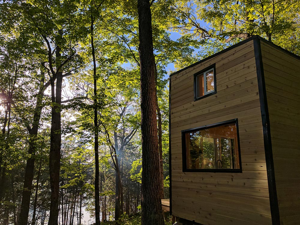 Tiny House in the Woods - Auburn by Cabinscape