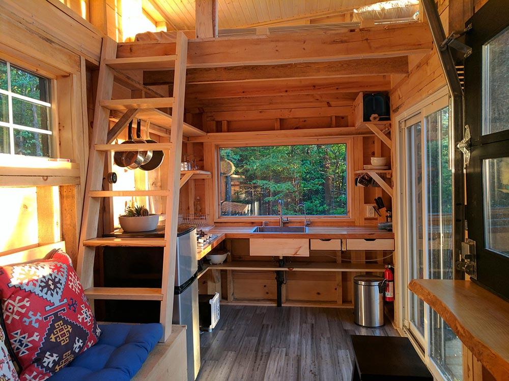 Kitchen & Loft Ladder - Auburn by Cabinscape