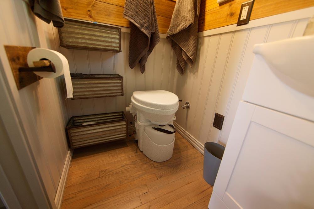 Composting Toilet - Barton Ranch by Sasquatch Custom Homes
