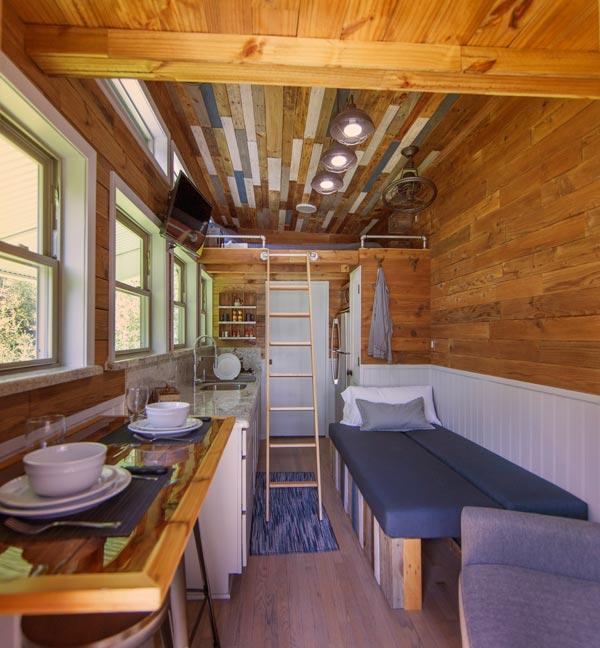 Reclaimed Flooring - Barton Ranch by Sasquatch Custom Homes