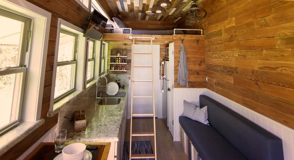 Tiny House Interior - Barton Ranch by Sasquatch Custom Homes