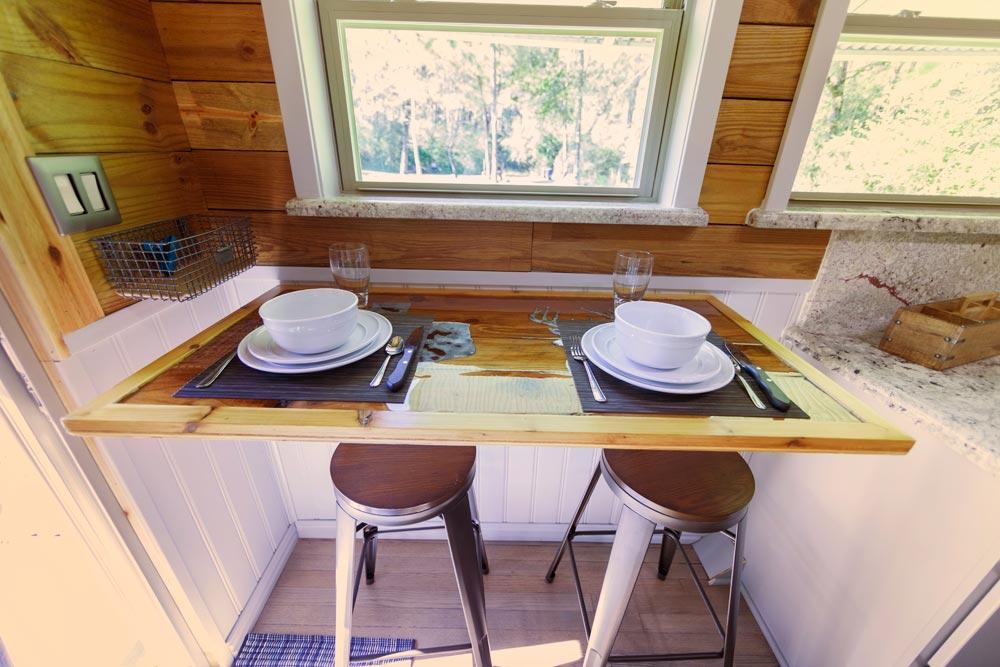 Table & Stools - Barton Ranch by Sasquatch Custom Homes